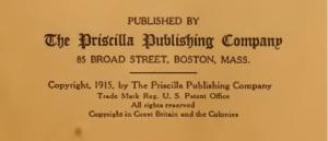 Priscilla Publishing