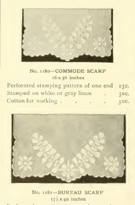 commode scarf