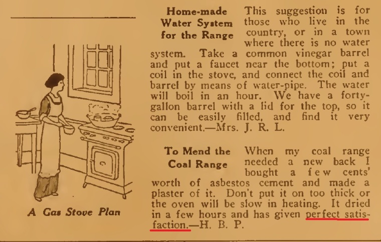 Gas stove tips