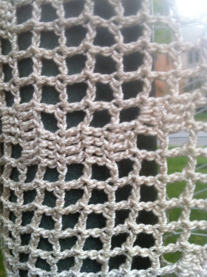 Filet Crochet Yarn BombRVA
