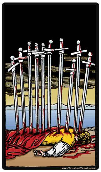 The 10 of Swords, Tarotsplained: Sandy's Love Life, Part 2