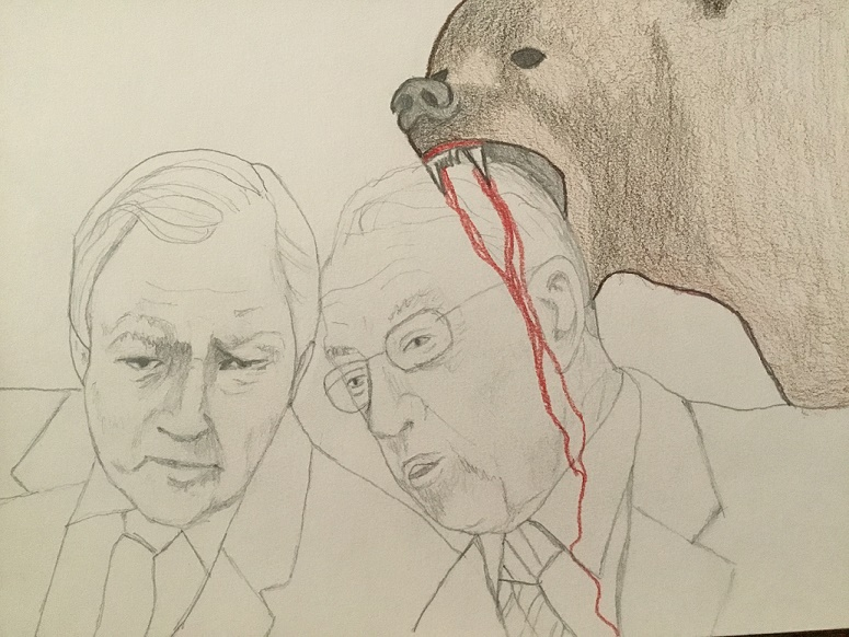 Hatch and Grassley with Bear