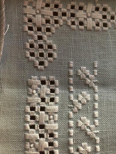 hardanger sampler detail